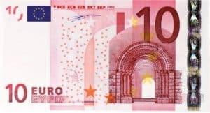 10 euro förderbeitrag